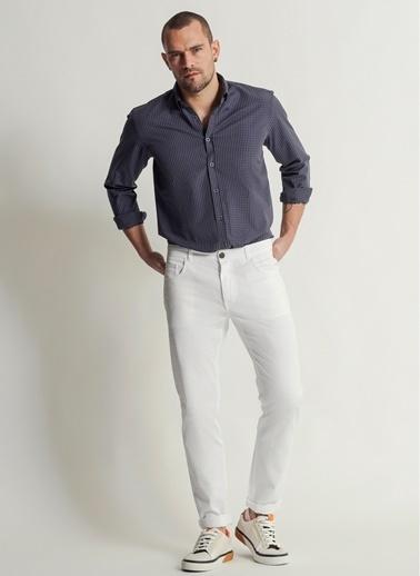 People By Fabrika 5 Cep Pantolon Beyaz
